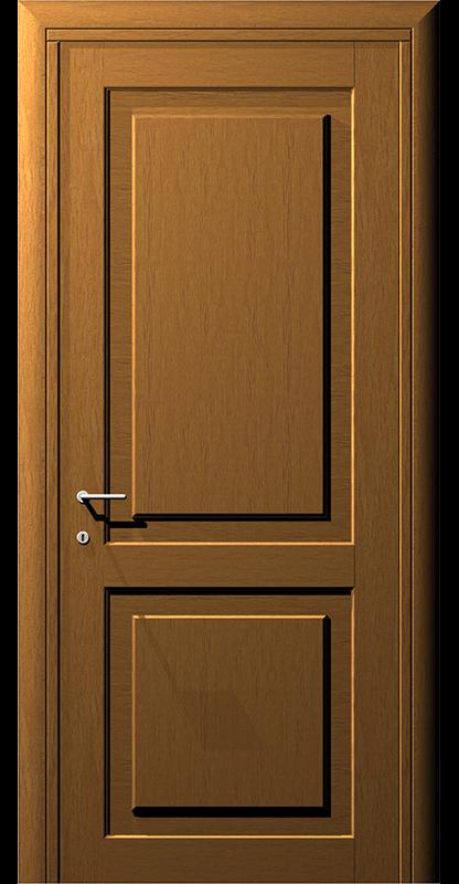 Ușă din lemn casetat – Model 1