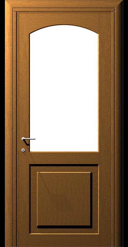 Ușă din lemn boltit – Model 6