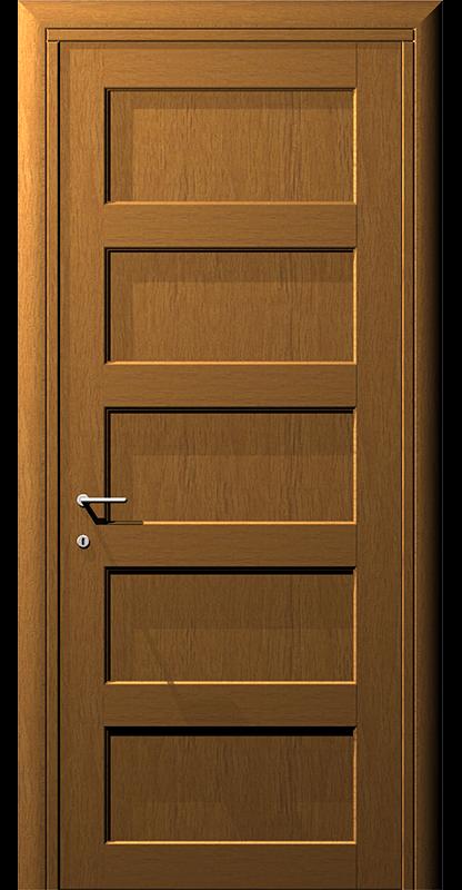 Ușă din lemn casetat – Model 7