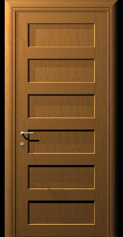 Ușă din lemn casetat – Model 8