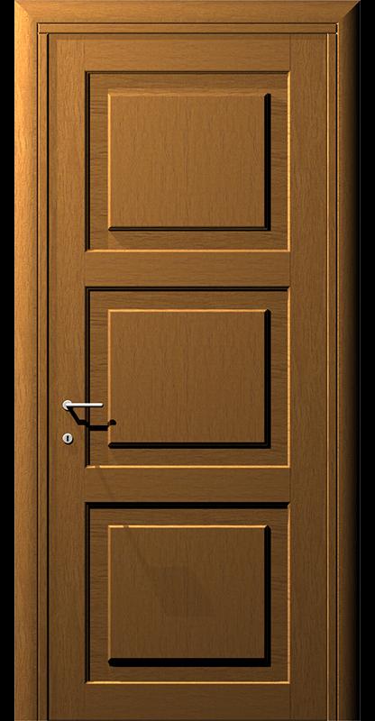 Ușă din lemn casetat – Model 4