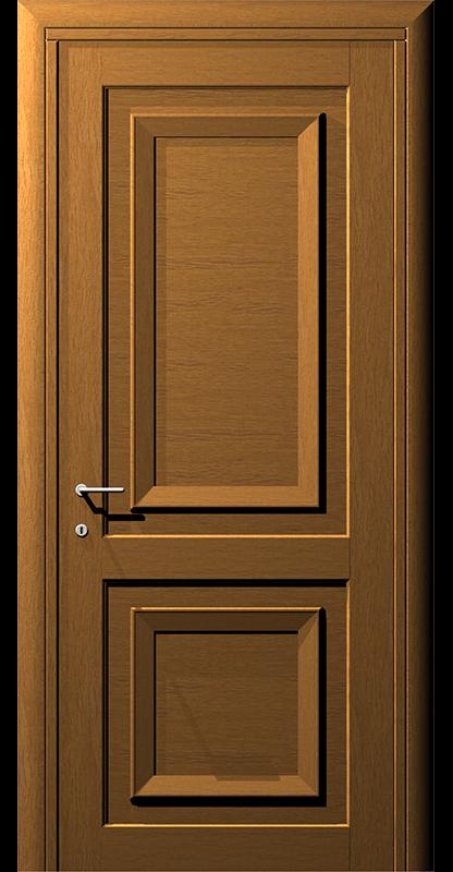 Ușă din lemn casetat – Model 5