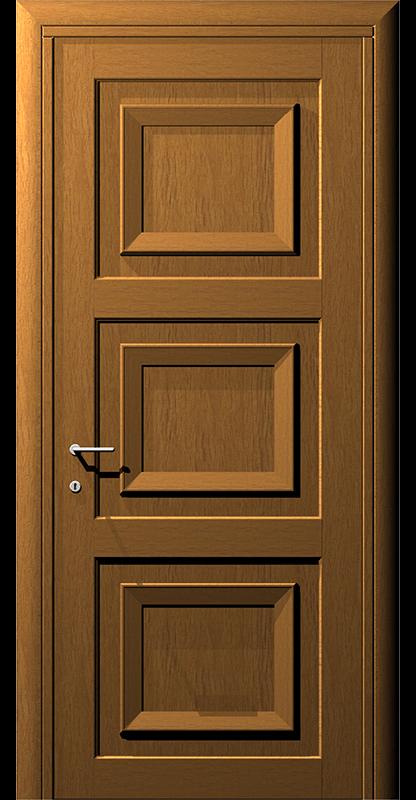 Ușă din lemn casetat – Model 6