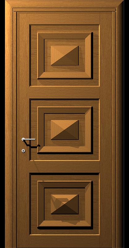 Ușă cu model prismă – Model 2