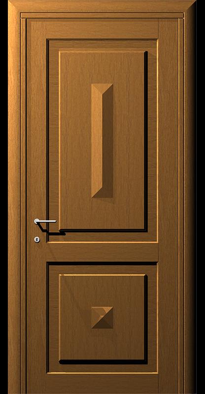 Ușă cu model prismă – Model 3